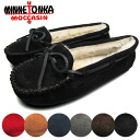 Minnetonka Carrie slippers moccasin shoes MINNETONKA CALLY SLIPPER MOCCASIN Womens fur BOA rubber sole 4010 / 4011 / 4012 / 4014 / 4015 / 4016 promise BLACK/CINAMON/CHOCO/NAVY/GREY/RED arrival report view