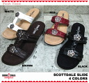 MINNETONKA SCHOTTDALE SLIDE 70020 4COLORS BROWN RED WHITE BLACK