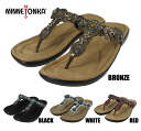 Minnetonka Boca tongs MINNETONKA BOCA THONG 70200 BRONZE/BLACK/WHITE/RED