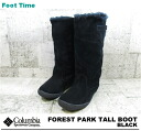 COLUMBIA FOREST PARK TALL BOOT BLACK YU3401-010