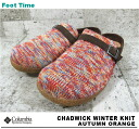 COLUMBIA CHADWIK WINTER KNIT AUTUMN ORANGE YU3414-811