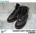 After the arrival to the Danner light Wood loan DANNER LIGHT WOODLAWN D.BROWN dark brown 30447 men's boots shoes product