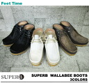 In the fixture of the サパーブワラビーブーツ SUPERB WALLABEE BOOTS 3color 9901 men's casual shoes review