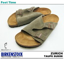 Birkenstock Zurich BIRKENSTOCK ZURICH TAUPE SUEDE 050461