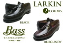 G.H BASS LARKIN BLACK BURGUNDY