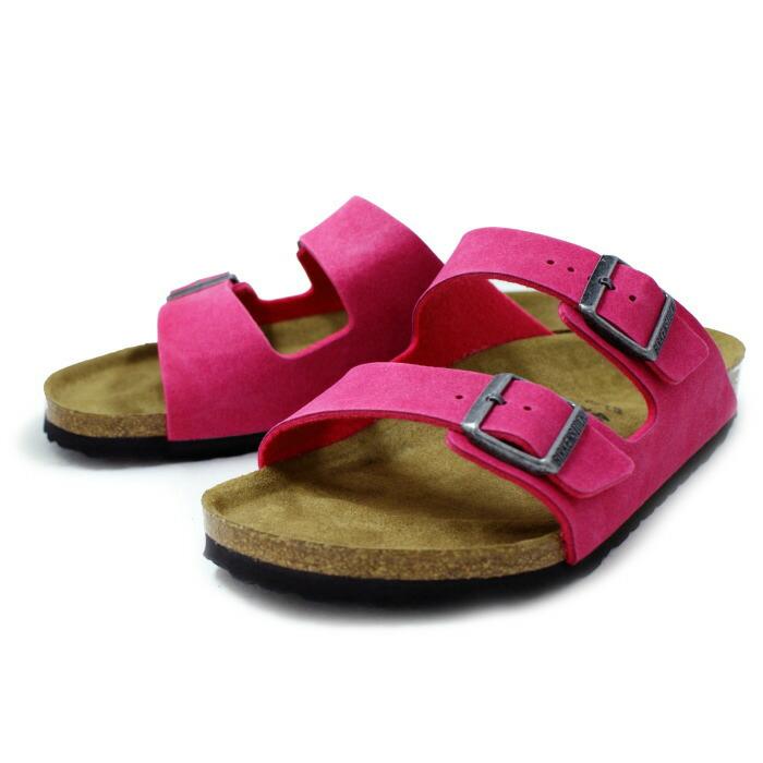 Birkenstock Sandales « Arizona » - Rose Et Violet kAoUs2Fr