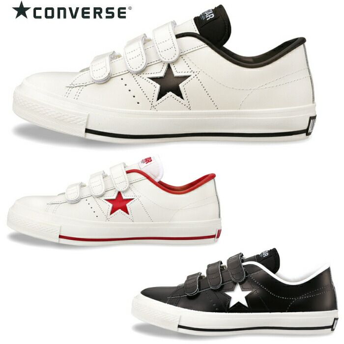 converse one star velcro