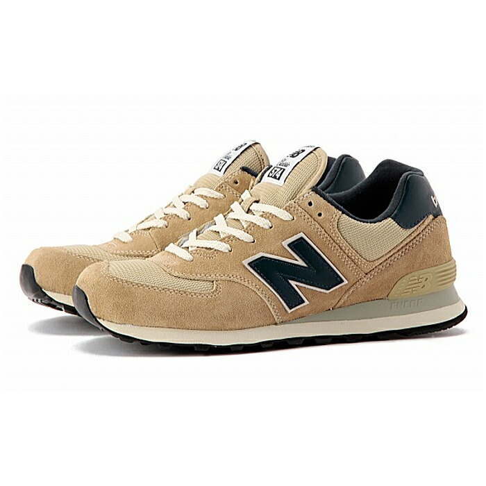 new balance ml 574 - sneakers - beige