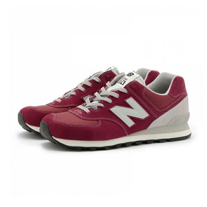 New Balance ML 574 VBU Schuhe bordeaux-grey - 45,5