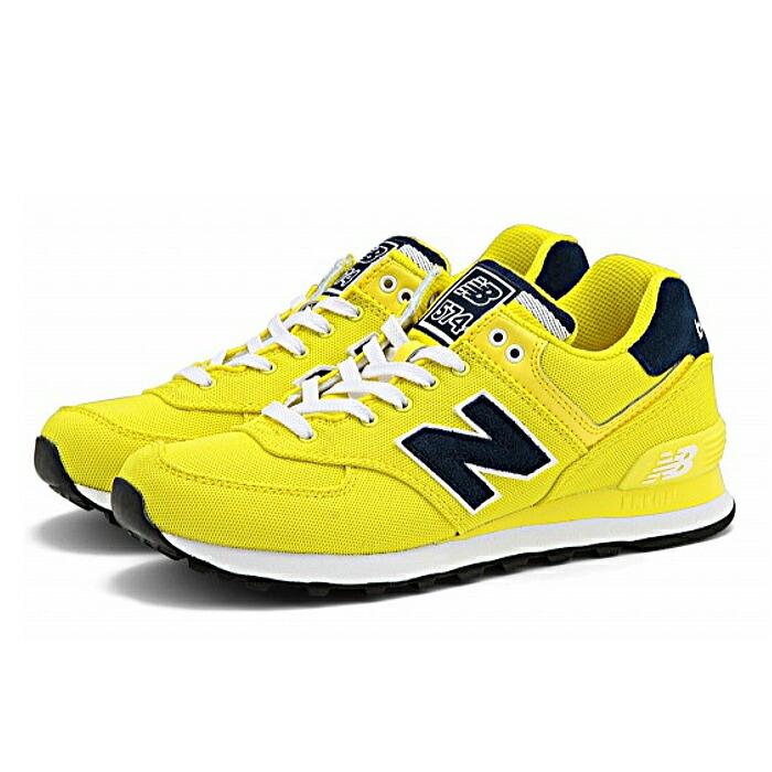 new balance 574 yellow women