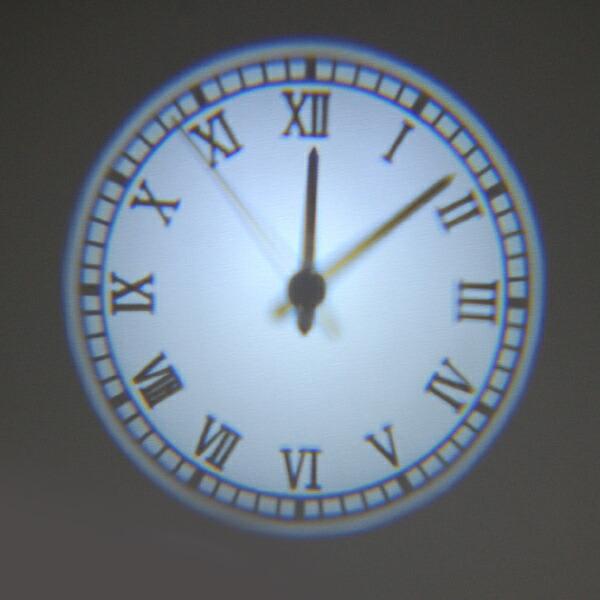 analog projection clock