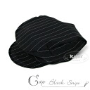 With kids ' Hat boy kids newsboy nickerbockers! black stripe pattern child formal Hat fs3gm