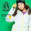 【43Degree】 Snowboard Wear New Model / Women's Jacket&Pant Set★ / Style_G01〜15[fs01gm]