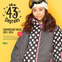 【43Degree】 Snowboard Wear New Model / Women's Jacket&Pant Set★ / Style_G016〜28[fs01gm]