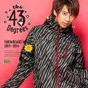 43Degrees 스노우보드 웨어 남성/유 니 섹스 재킷 및 바지 상하 세트 ☆ Style_F No.1 ~ 17 선택할 수 있는 컬러 발리 평점 패턴! 당신만의 오리지날 코드 ☆ fs3gm