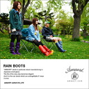 [AMAORT] Packable Rain Boots RALA You can feel easy a sudden heavy rain☆ It can store and carry !! Convenient folding Rain boots !! 【Total weight is 1.25kg】[fs01gm]