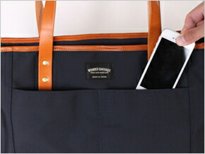WONDER BAGGAGE GOODMANS DAILY 2WAY TOTE