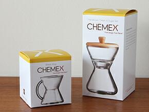 CHEMEX MUG / SUGAR&CREAMER