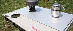 キャンプツーリングテーブル用 スタビリティープレート パネル