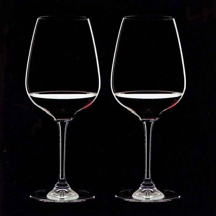 リーデル ハート・トゥ・ハート ペア 赤ワイングラス