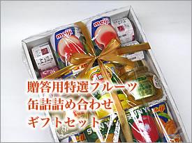贈答用特選フルーツ缶詰詰め合わせギフトセット