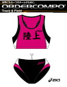 ASICS women's running order COMPO bra top and panties down set PX04 (mark)