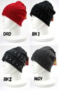 "Descente DESCENTE/ hat / knit hat / ski / snowboarding ""beanie silver ion use"" DKC-3216"