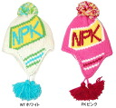 エビスニット north peak North Peak with earpieces junior children's knit Cap NP-9279