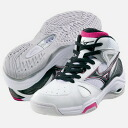 "Mizuno Mizuno Lady's basketball shoes ""wave pride BB/ white X black"" 13KL-15009"