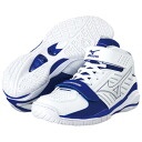 "Mizuno Mizuno basketball shoes ""wave rial GRASP/ white X blue"" 13KL-23022"