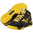 "Mizuno MIZUNO junior basket ball shoes ' wave rookie BB3 / Black × Yellow ""13KL-37045"