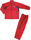 "Mizuno ski type ""warm-up jersey top and bottom set / red"" A50LM80162"