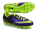 "Nike NIKE Junior soccer spike shoes ""Nike Jr Mercurial victory IV HGB AF / electro-purple ' 555635-570"