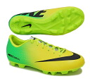 Nike NIKE Junior soccer spike shoes Nike Jr Mercurial victory IV HGB AF / vibrant yellow 555635-703
