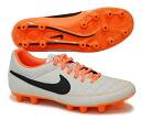 "Nike NIKE football spike shoes ""Nike Tiempo Gino leather HG-E AF / desert sand' 631548-008"