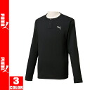 PUMA Henry neck long-sleeve T shirt - PUMA Soft Touch DRY