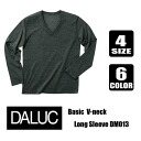ARC basic V neck long sleeve T shirt 4.3 OZ