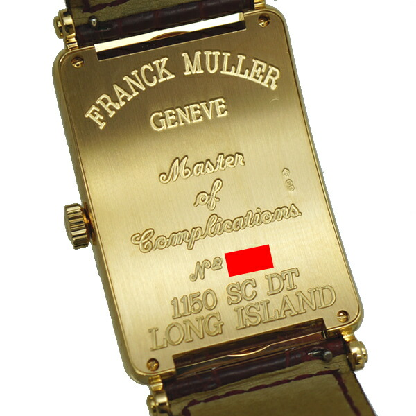 Franck Muller Long Island 1150 Sc Dt