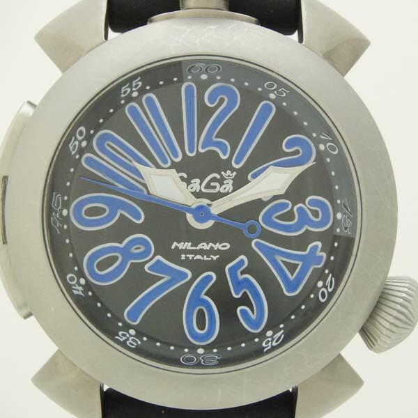 ダイビング 48mm 腕時計 GaGaMILANO ガガミラノ