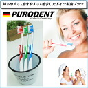 At 399 Yen! PURODENT ' firmness of Germany toothbrush ☆ プーロデント マッサージウィング hair: usually ' to massage the gums with a wing * in the delivery within.