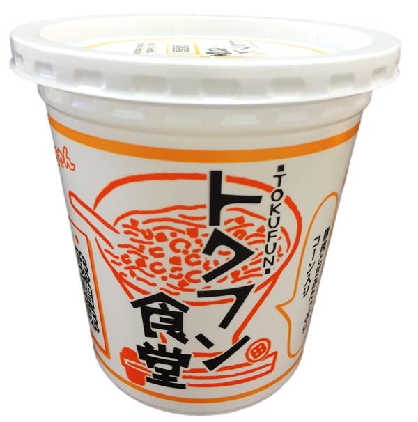【送料490円(沖縄除く】金ちゃんトクフン食堂味噌味(タテ型カップ)1ケース(12個入)【徳島製粉】