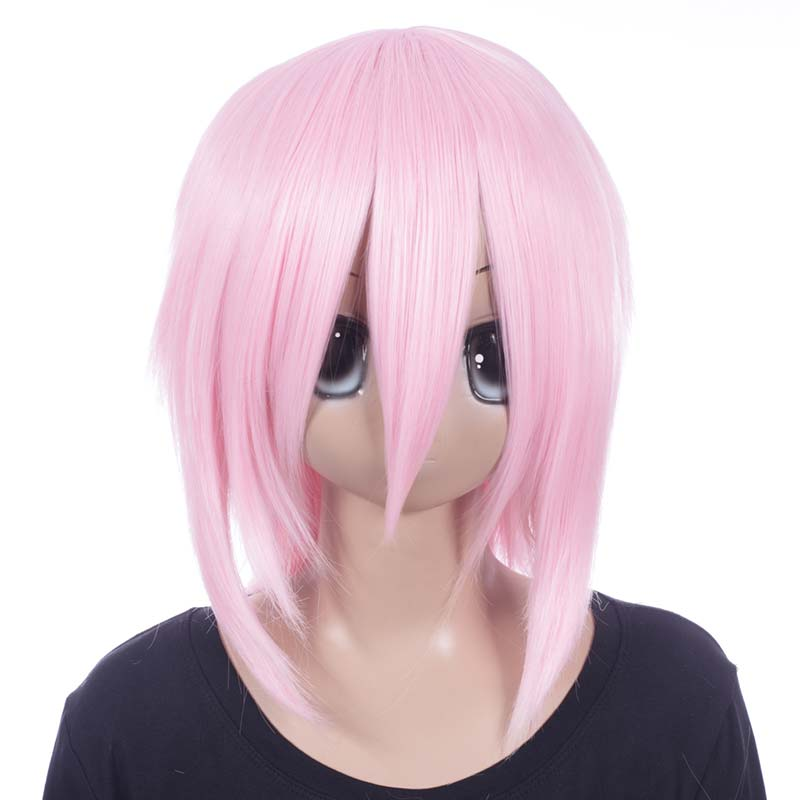 富士達オリジナル・ウルフウィッグ ピンク サクラ