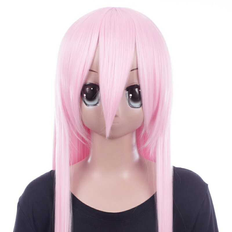 富士達オリジナル・ロングウィッグ ピンク サクラ
