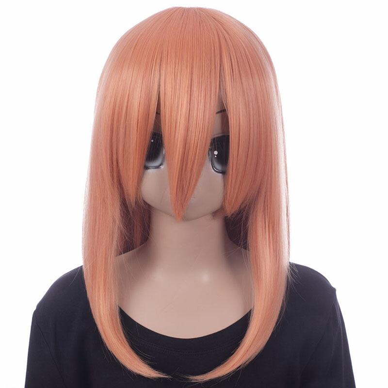 富士達オリジナル・ミディアムウィッグ オレンジ シナモン