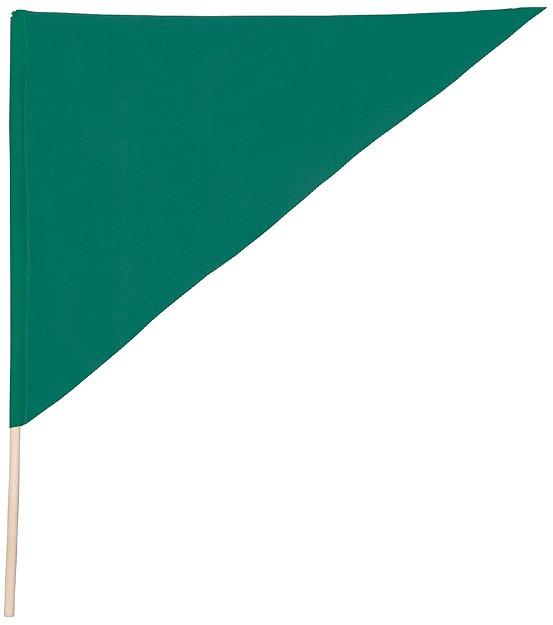三角形国旗绿