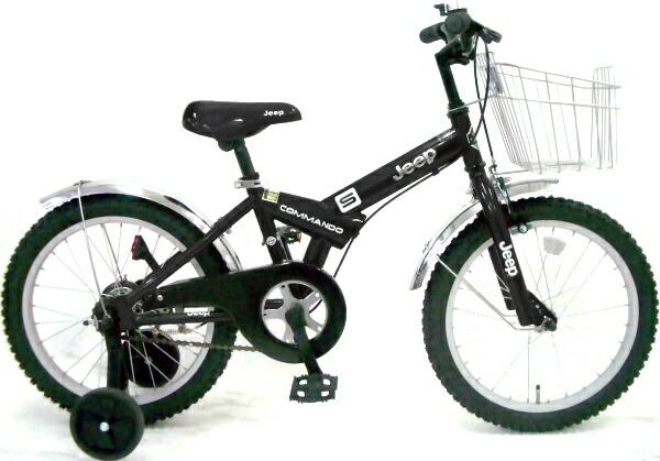 自転車の 自転車 ジープ 16インチ : ジープJEEP KID'S BIKE JE-16(BK)