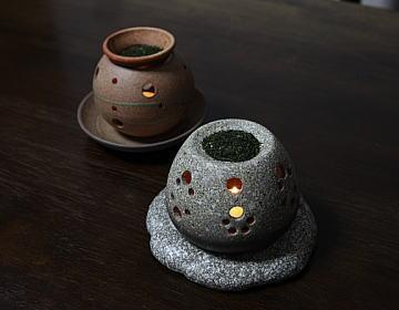 茶香炉の使い方