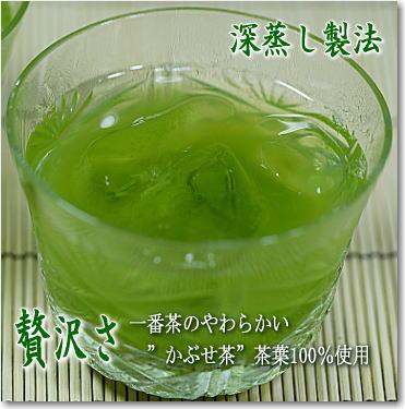 水出し緑茶 深蒸し製法