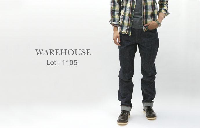 WAREHOUSE 【ウエアハウス】Lot:1105 5Pデニム