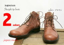 INGENIUM straight tip boots